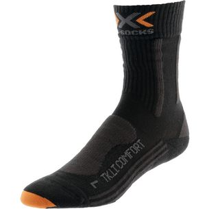 X-SOCKS Trekking Light & Comfort Wandersocken Damen grau