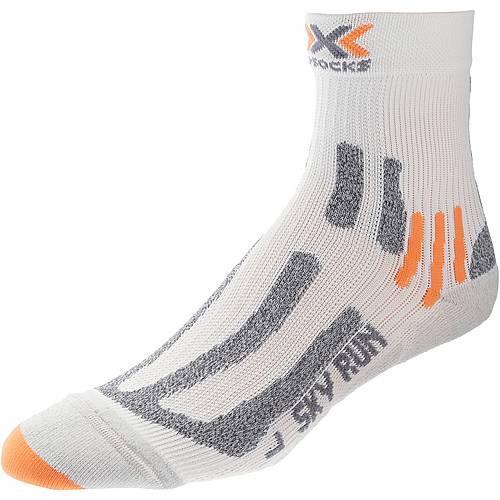 X-SOCKS Sky Run 2.0 Laufsocken weiß/orange