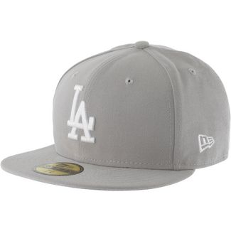 New Era 59FIFTY LOS ANGELES DODGERS Cap grau/weiß