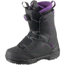 Salomon PEARL BOA Snowboard Boots Damen BLACK/GRJ/BK