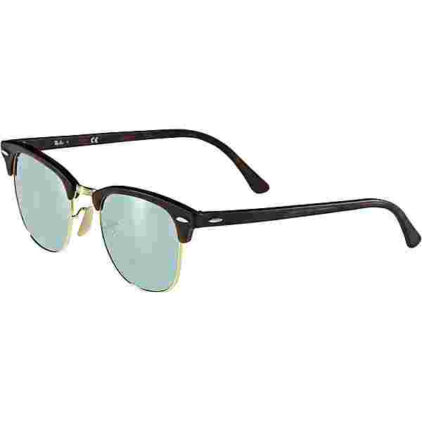 RAY-BAN Clubmaster 0RB3016 Sonnenbrille sand havana-gold