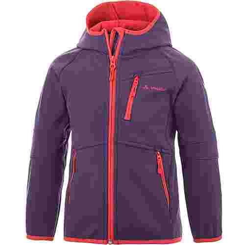 VAUDE Rondane Jacket III Kinder Softshelljacke rot