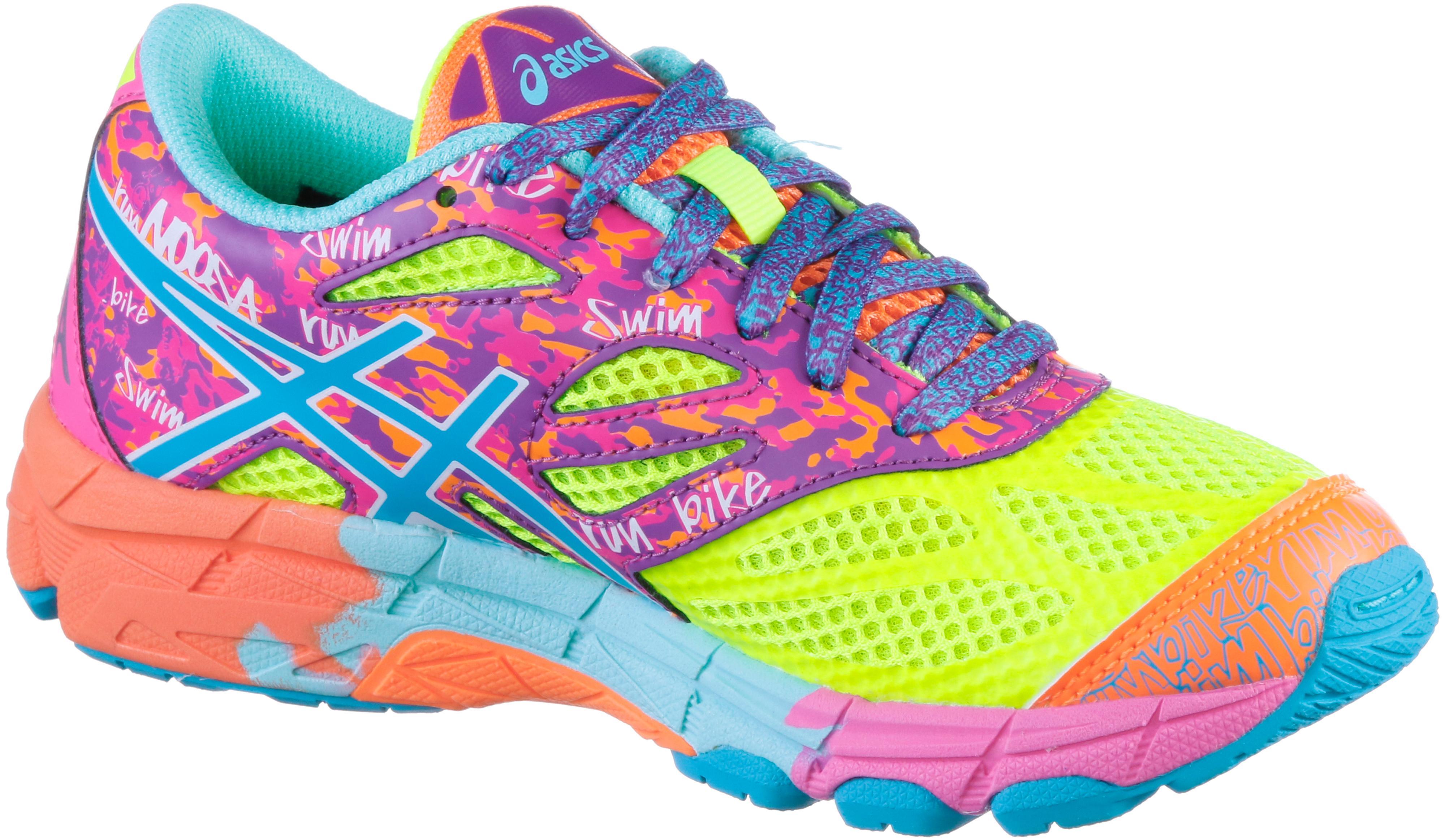 ASICS GEL NOOSA TRI 10 GS Laufschuhe Kinder neongelbtürkisneonpink im Online Shop von SportScheck kaufen