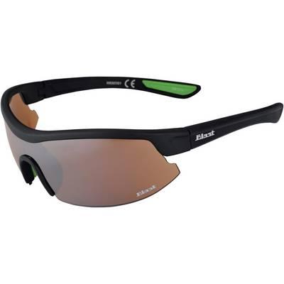 Maui Wowie Sportbrille Sonnenbrille matte black/green rubber