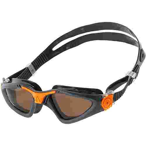 Aqua Sphere Kayenne Schwimmbrille grau/orange
