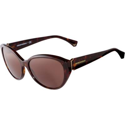 Armani 0EA4037 Sonnenbrille schwarz/goldfarben