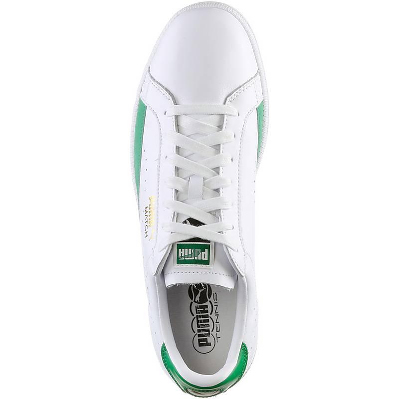 puma herren sneaker weiß grün