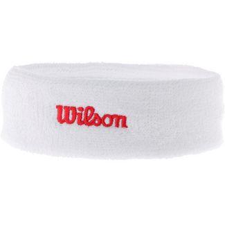 Wilson Stirnband weiß