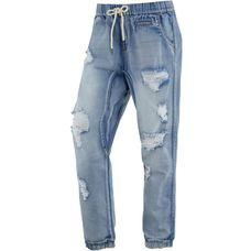 all about eve Boyfriend Jeans Damen destroyed denim