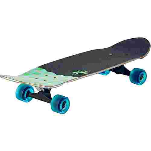 """Lost Qubert 32"""" Longboard-Komplettset grün/blau"""
