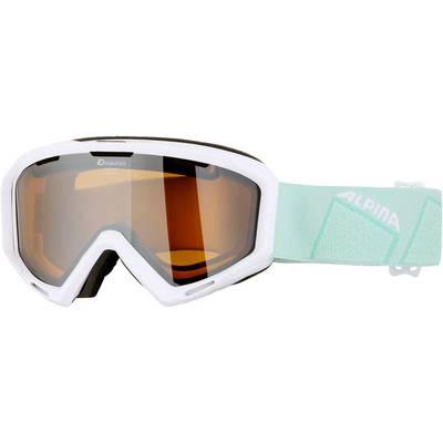 ALPINA PANOMA S HM Skibrille white /HM orange S2