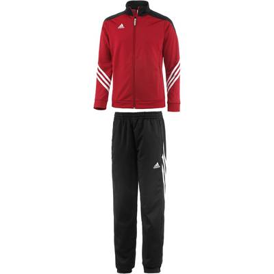 adidas sereno 14 trainingsanzug kinder rot schwarz im. Black Bedroom Furniture Sets. Home Design Ideas