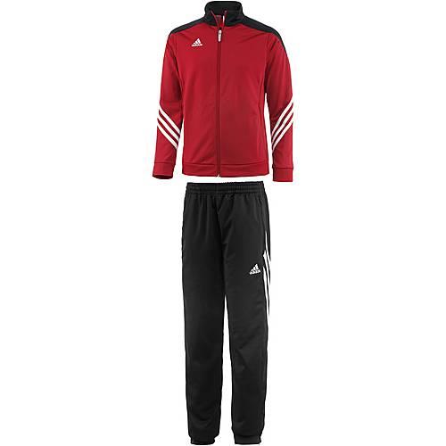 adidas Sereno 14 Trainingsanzug Kinder rot/schwarz