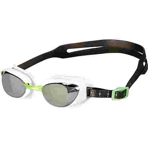 SPEEDO Aquapure Schwimmbrille white/smoke