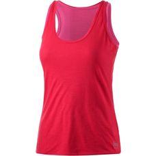 super natural 2-in-1 Top Damen rot/pink