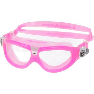 Aqua Sphere Seal Kid 2 Schwimmbrille Kinder pink/white
