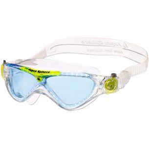 Aqua Sphere Vista Junior Schwimmbrille Kinder transparent
