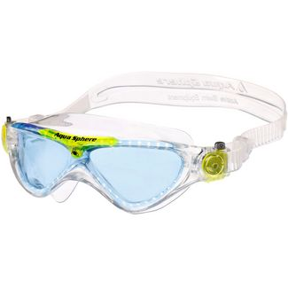Aqua Sphere Vista Junior Schwimmbrille Kinder transparent