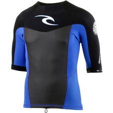 Rip Curl Dawn Patrol Longs Sleeve Jacket Blue Neoprenshirt Herren blau/schwarz