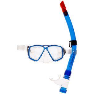 US Divers Acapulco Junior LX Schnorchelset Kinder blau
