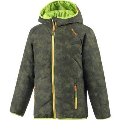 Ziener Skijacke Kinder grün/hellgrün