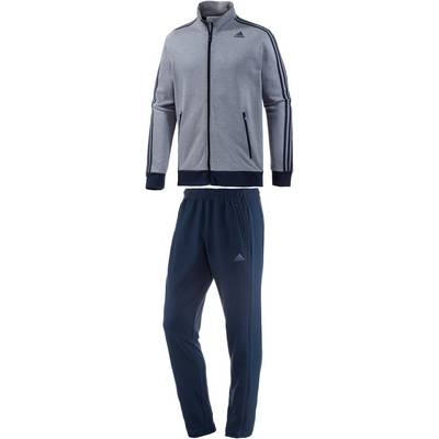 adidas Tracksuit Interlock Trainingsanzug Herren navy melange