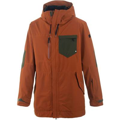 Ride Snowboards Delridge Snowboardjacke Herren orange