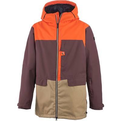 Ride Snowboards Georgetown Snowboardjacke Herren bordeaux/orange/beige