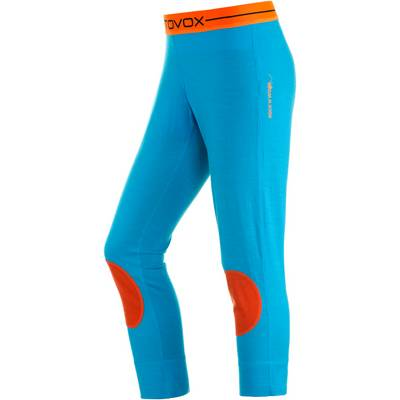 ORTOVOX Funktionsunterhose Damen türkis/orange