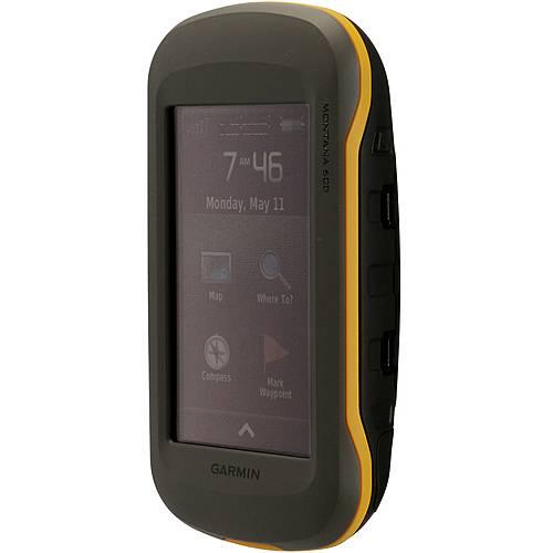 Garmin Montana 600+Topo DE V7 Pro Bundle GPS anthrazit/gelb