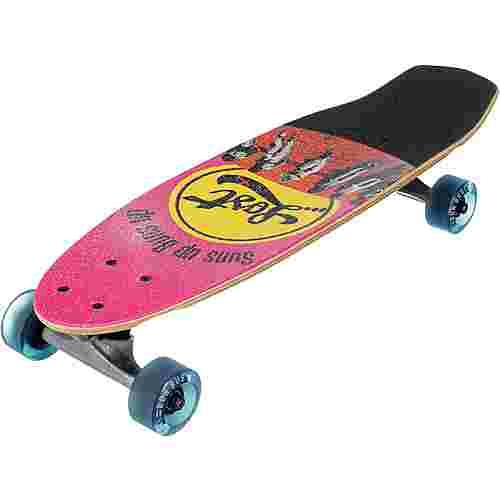 "Lost Bunclub 24"" Skateboard-Komplettset rot/pink"