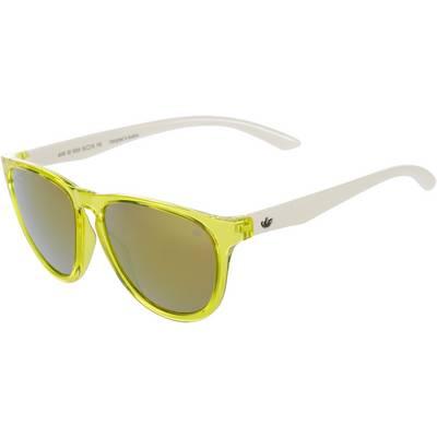 adidas San Diego Sonnenbrille solar yellow white/gold mirror