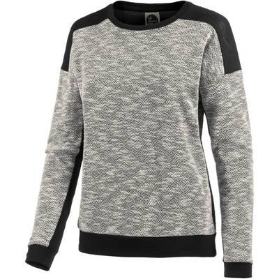 all about eve Sweatshirt Damen graumelange/schwarz