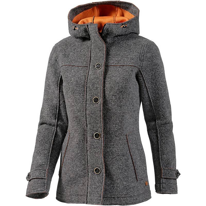 CMP Wollmantel Damen grau orange im Online Shop von SportScheck kaufen cc488fdfa1