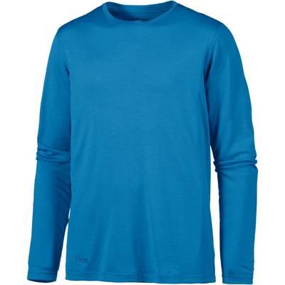 Bergans Echo Wool Langarmshirt Herren blau