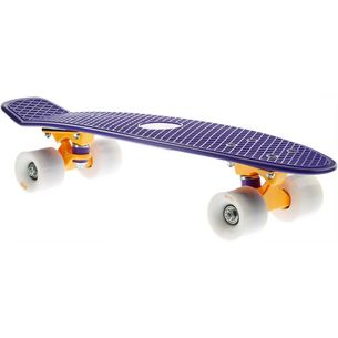 "AREA Candyboard 22,5"" Skateboard-Komplettset violett/orange"