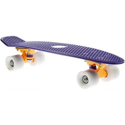 "AREA Candyboard 22,5"" Skateboard-Komplettset violett/orange"
