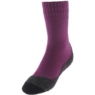 Falke Wandersocken Kinder wildberry