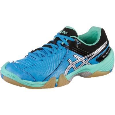 ASICS GEL-DOMAIN 3 Handballschuhe Damen hellblau/silberfarben/blau