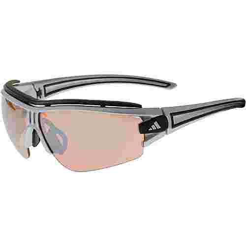 adidas Evil Eye Halfrim Sportbrille silberfarben/schwarz