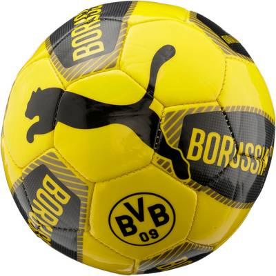 PUMA BVB Miniball schwarz/gelb