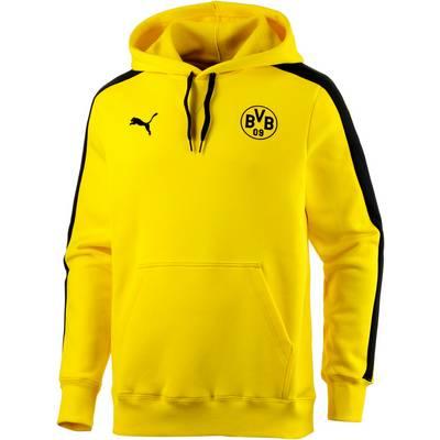 PUMA BVB Hoodie Herren gelb/schwarz