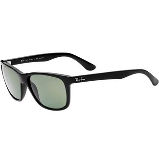 RAY-BAN 0RB4181 Sonnenbrille shiny black