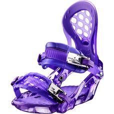 Ride Snowboards KS PURPLE Snowboardbindung Damen violett
