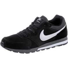 Nike  MD RUNNER 2 Sneaker Herren black/white-anthracite