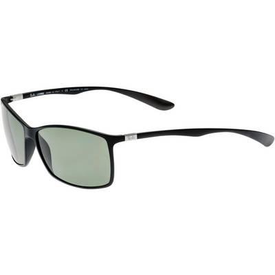 RAY-BAN Sonnenbrille schwarz/grün