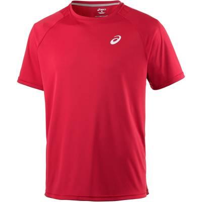 ASICS Club Short Sleeve Tee Tennisshirt Herren rot