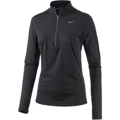 Nike Element Laufshirt Damen schwarz