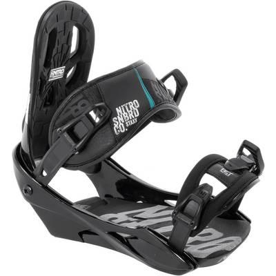 Nitro Snowboards Staxx Snowboardbindung Herren schwarz