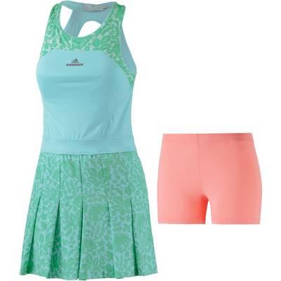 adidas Stella McCartney Dress Australia Tenniskleid Damen blau/türkis